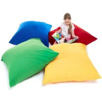 Plain Cushion Large Pack of 4